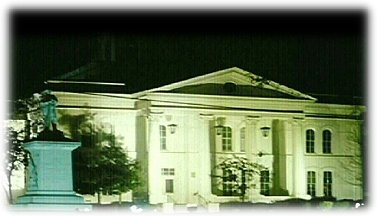 Colbert County Courthouse at Night